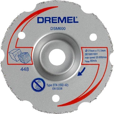 דיסק חיתוך רב תכליתי לחיתוך צמוד - DREMEL DSM600 DREMEL