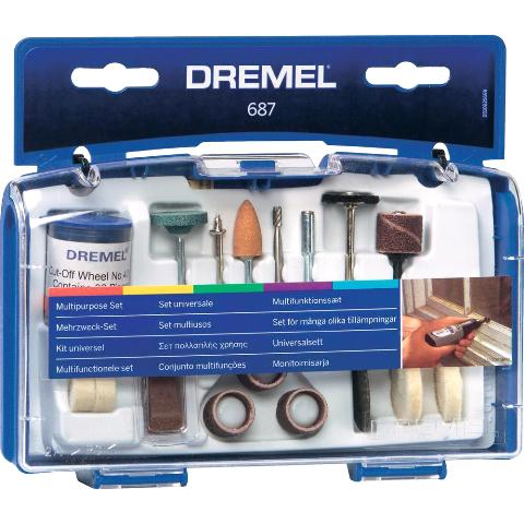 DREMEL MULTIPURPOSE SET - 687