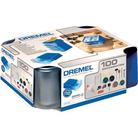 ערכת 100 אביזרים מודולריים למשחזת ציר - DREMEL 720 DREMEL