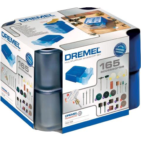 DREMEL 165 PIECE MULTIPURPOSE MODULAR ACCESSORY SET - 722