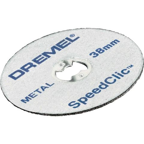 DREMEL 5 PIECE EZ SPEEDCLIC METAL CUTTING WHEELS - SC456