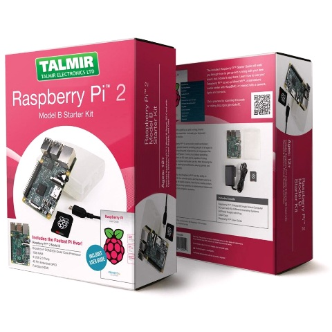 RASPBERRY PI 2 MODEL B - STARTER KIT