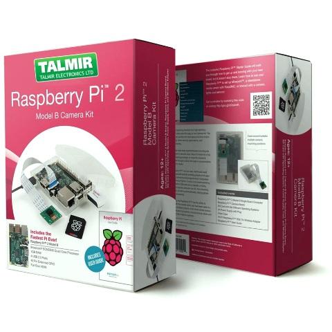 RASPBERRY PI 2 - MODEL B 1GB - CAMERA KIT RASPBERRY PI