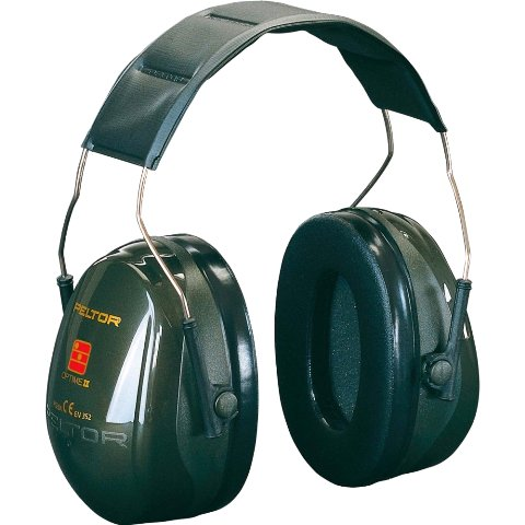 PELTOR PROFESSIONAL EAR MUFFS - OPTIME II - H520 SERIES