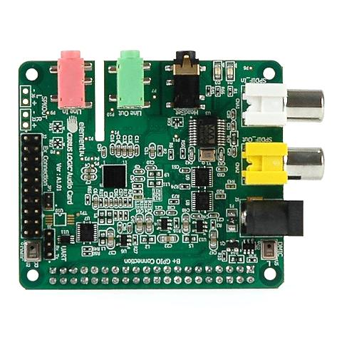 +CIRRUS LOGIC AUDIO CARD FOR RASPBERRY PI MODEL B