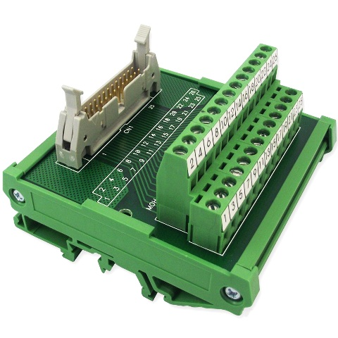 טרמינל בלוק - IDC20 PLUG INTERFACE MODULE MULTICOMP