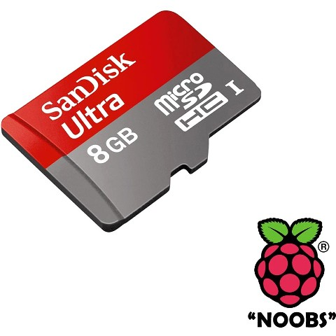 NOOBS ULTRA FOR THE RASPBERRY PI 2 MODEL B