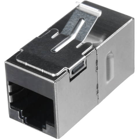 MH CONNECTORS RJ45 SHIELDED PANEL MOUNT COUPLER - CAT6A