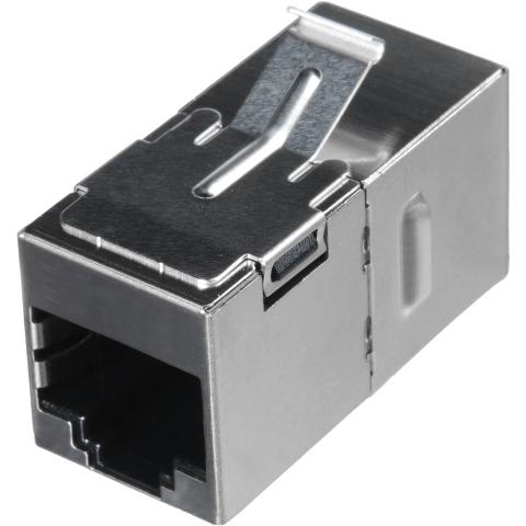 מתאם תקשורת מסוכך - RJ45 (F) ~ RJ45 (F) - CAT6A MH CONNECTORS
