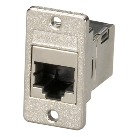 TUK RJ45 SHIELDED PANEL MOUNT COUPLERS - FACK SERIES