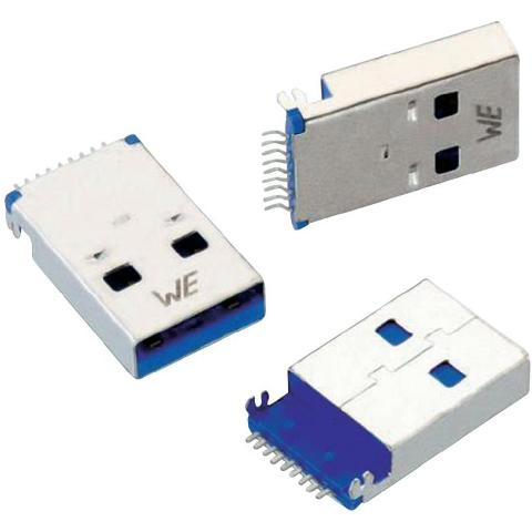 WURTH ELEKTRONIK USB 3.0 PCB CONNECTORS