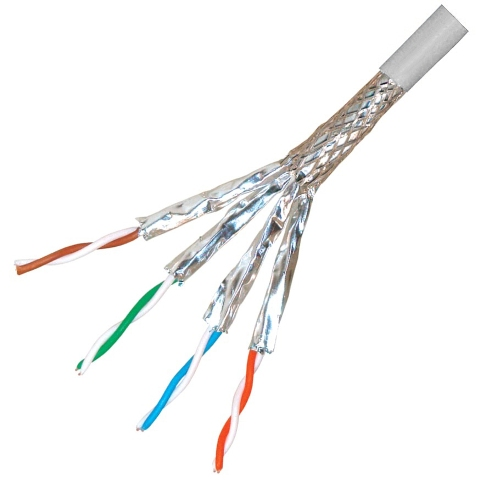 PRO-POWER SCREENED FTP CAT7A LSZH CABLES - 1200MHZ