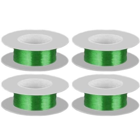 חבילת חוטי נחושת מצופים לכה - 0.15MM / 38SWG - בידוד ירוק PRO-POWER