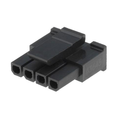 מחבר MOLEX ללחיצה לכבל - סדרת MICRO-FIT - נקבה 11 מגעים MOLEX