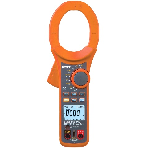 TENMA DIGITAL MULTIMETERS - CLAMP PRO II SERIES