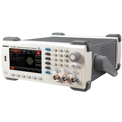 מחולל אותות שולחני - TENMA 72-2500 - 60MHZ TENMA