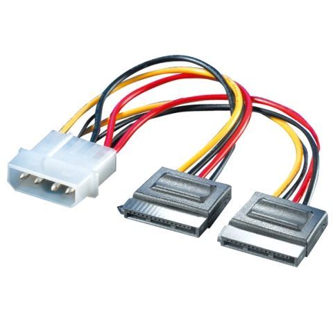 ROLINE SERIAL ATA 15P TO POWER CABLE