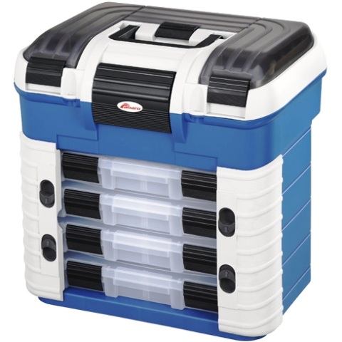 PLASTICA PANARO STORAGE CASE WITH REMOVABLE TRAYS - SUPRBOX 502