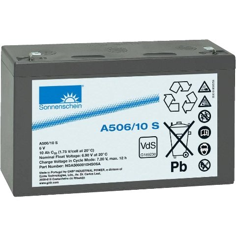 SONNENSCHEIN SEALED LEAD ACID BATTERIES - A500 SERIES