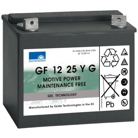 SONNENSCHEIN SEALED LEAD ACID BATTERIES - GF-Y SERIES