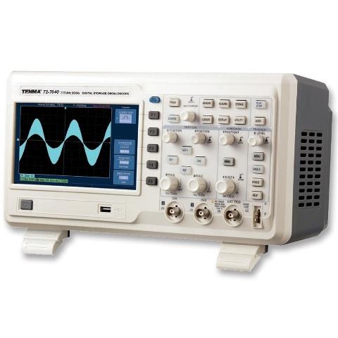 אוסילוסקופ שולחני דיגיטלי - 2 ערוצים - 200HMZ - 2GSPS TENMA
