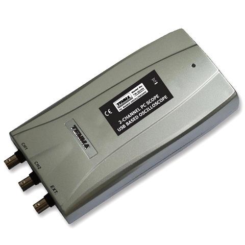 אוסילוסקופ מבוסס מחשב - 2 ערוצים - 100MHZ - 250MSPS TENMA