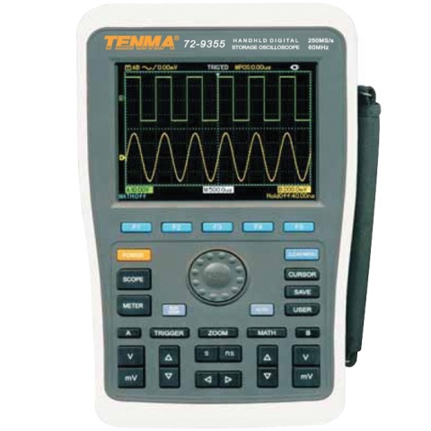 TENMA 2 CHANNEL HANDHELD DIGITAL OSCILOSCOPES