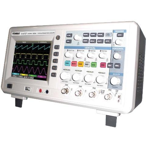 אוסילוסקופ שולחני דיגיטלי - 4 ערוצים - 200MHZ - 2GSPS TENMA