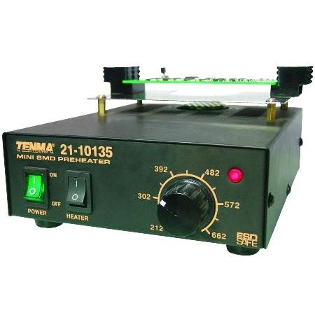 משטח חימום לפירוק והלחמת רכיבי 540W SMD TENMA