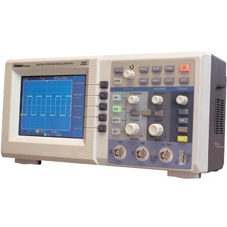 אוסילוסקופ שולחני דיגיטלי - 2 ערוצים - 25MHZ - 250MSPS TENMA