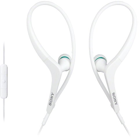 SONY ACTIVE SPORT EARPHONES WITH IPHONE CONTROL - MDR-AS400