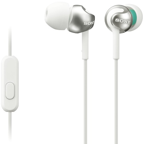 SONY IN-EAR EARPHONES WITH MIC & REMOTE - MDR-EX110
