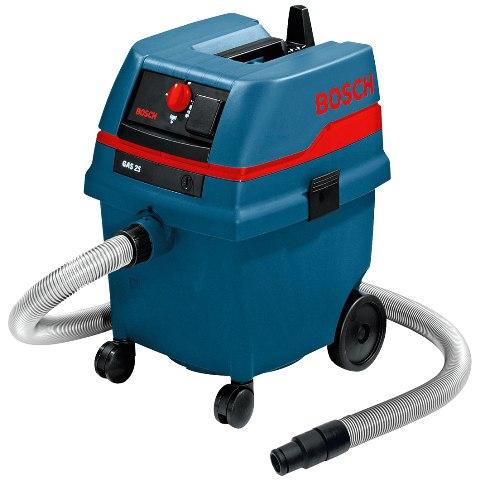 שואב אבק תעשייתי בוש - רטוב / יבש - BOSCH GAS 25 BOSCH