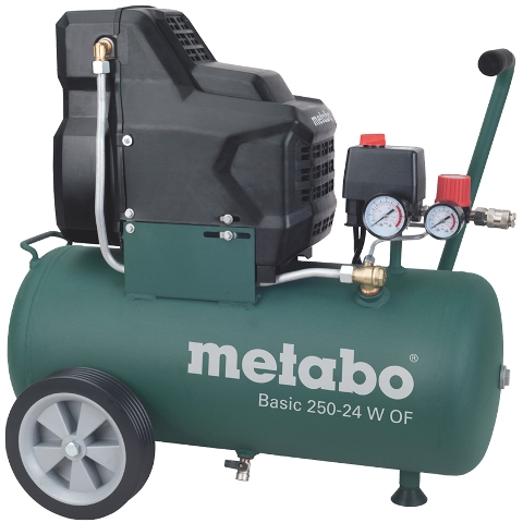 METABO 24L OIL-FREE COMPRESSOR - BASIC 240-24 W OF