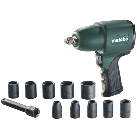 METABO COMPRESSED AIR IMPACT WRENCH - DSSW 360 SET 1/2