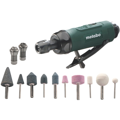 METABO COMPRESSED AIR DIE GRINDER - DG 25 SET