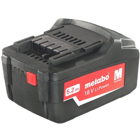 METABO LI-ION PUSH-FIT AIR COOLED BATTERY PACKS
