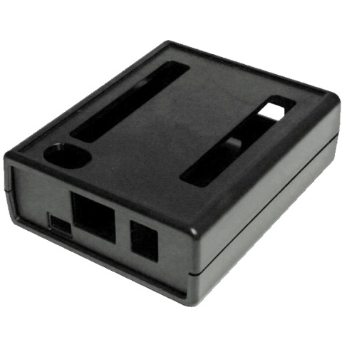 קופסת זיווד שחורה עבור BEAGLEBONE BLACK 4G HAMMOND