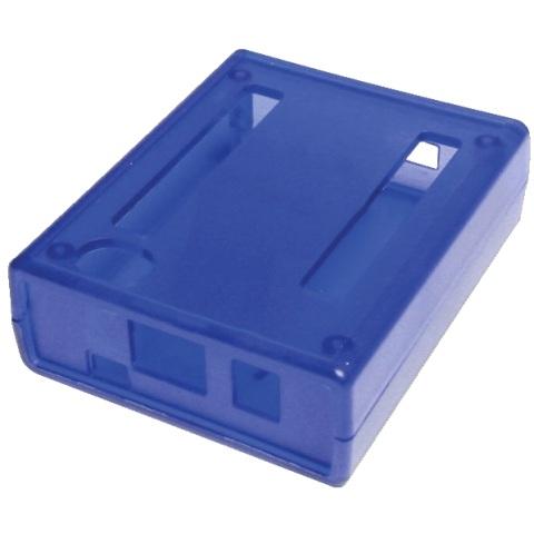 קופסת זיווד כחולה עבור BEAGLEBONE BLACK 4G HAMMOND