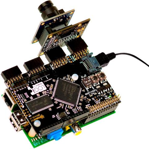 מצלמת כרטיס LOGI-CAM-2 עבור BEAGLEBONE & RPI LOGI
