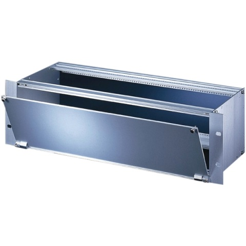 SCHROFF BOTTOM HINGED SHILEDED ALUMINIUM FRONT PANELS