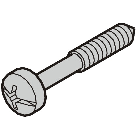 SCHROFF POZIDRIVE / SLOTTED COLLAR SCREWS