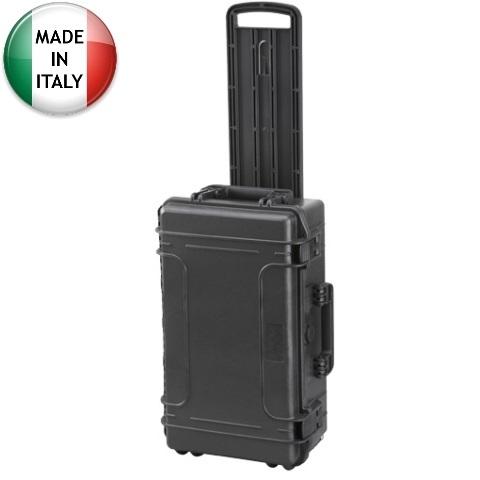 מזוודת אחסון טרולי מוגנת מים מפלסטיק קשיח - 585X361X238MM PLASTICA PANARO