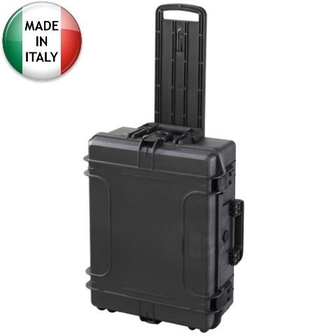 מזוודת אחסון טרולי מוגנת מים מפלסטיק קשיח - 604X473X225MM PLASTICA PANARO