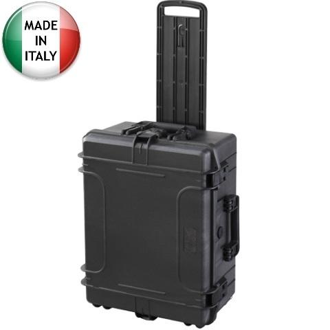 מזוודת אחסון טרולי מוגנת מים מפלסטיק קשיח - 604X473X283MM PLASTICA PANARO