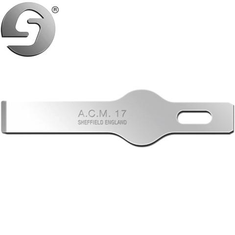 סט 5 להבים לסקלפל - SWANN MORTON ACM17 - עבור ידית NO.1 SWANN MORTON