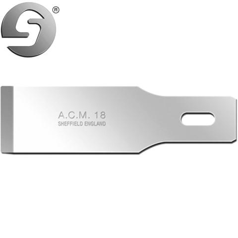 סט 5 להבים לסקלפל - SWANN MORTON ACM18 - עבור ידית NO.5 SWANN MORTON
