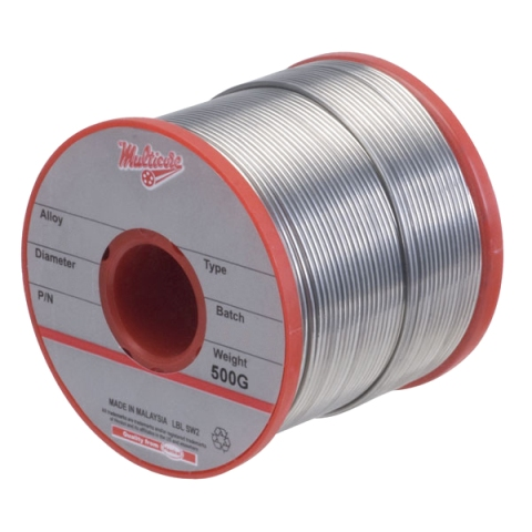 MULTICORE 60/40 ALLOY ROSIN FLUX SOLDERING WIRES