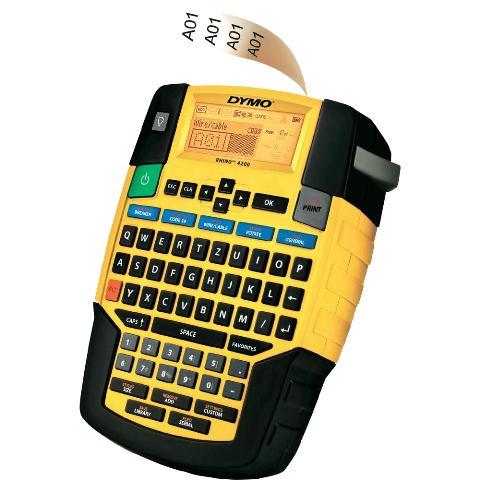 מדפסת תעשייתית ניידת RHINO 4200 - QWERTY - DYMO DYMO