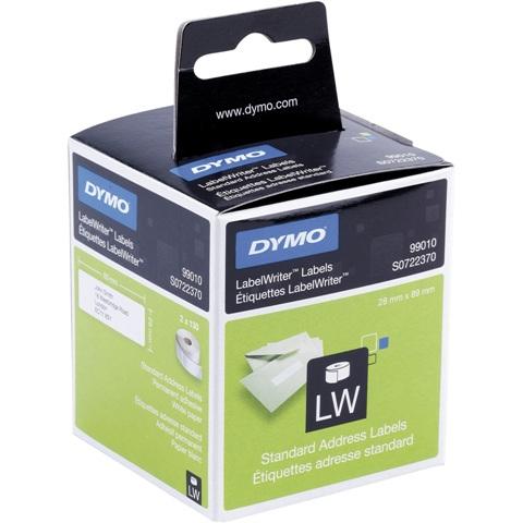 גליל מדבקות נייר - 89MM X 28MM - LABEL WRITER DYMO